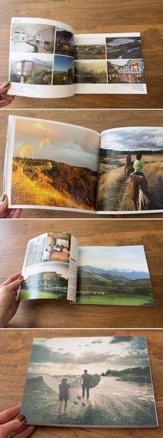Travel Photo Book | suzanneobrienstudio.com                                                                                                                                                                                 Más