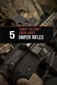 Sniper Rifle Facts - 5 Things You Didn't Know About Sniper Rifles | Amazing Facts About Your Weapon by Gun Carrier guncarrier.com/...