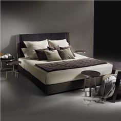 Flexform Margaret Bed - Style # 14MM6-14MN8, Modern Beds - Modern Platform Beds - Modern Storage Beds   Contemporary Designer High End Beds   SwitchModern.com