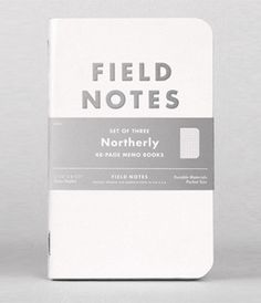 """Field Notes """"The Northerly"""" Limited Edition 