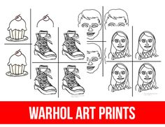Children who love to use bright colors love to create Warhol inspired artwork. You can use our pre-printed Warhol artist cards, or use this activity to teach children how to transfer and copy images. Materials: White Paper Black Marker Colored Pens Subject Photo or Printable Template Below Suggest Resources for a Unit Study: …