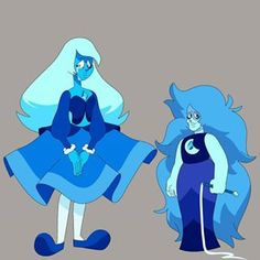 Blue diamond in pink's place and her alter ego Blue Agate. Mother of Doug. Steven Universe Drawing, Steven Universe Characters, Steven Universe Movie, Blue Diamond Su, Blue Diamond Steven Universe, Steven Universe Background, Marvel Wallpaper, Kawaii, Character Design Inspiration