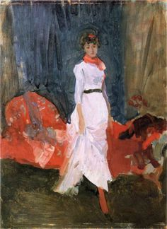 Arrangement in Pink, Red and Purple, 1883-1884  James McNeill Whistler