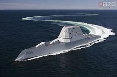 米海軍の異形の駆逐艦がまもなく就役 将来的には日本に配備へ - ライブドアニュース