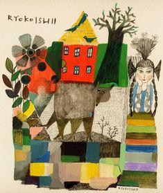 Ryoko Ishii - CHILDRENS ILLUSTRATION