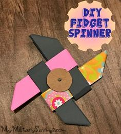 You already know that FIDGET SPINNERS are all the rage these days! But you should kick it up a notch and MAKE YOUR OWN! Katie shows us how in her latest DIY blog!