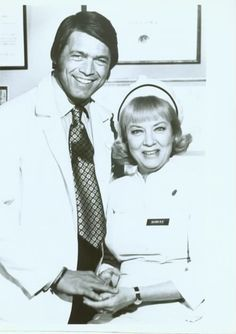 """""""Medical Center"""" - Chad Everett, James Daly and Audrey Totter. 1969-1976."""