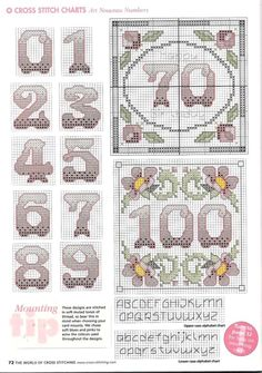 Gallery.ru / Фото #28 - The world of cross stitching 057 апрель 2002 - tymannost