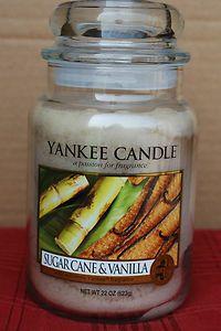 Yankee Candle oz. Jar – Sugar Cane & Vanilla #YankeeCandle #MyRelaxingRituals