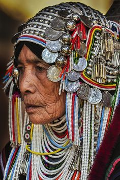 Akha-hill-tribe-village-chiang-rai-thailand-jan-akha-woman-models ...