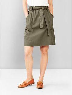 Tie-waist skirt | Gap