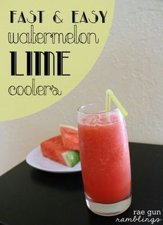 Watermelon Lime Cooler
