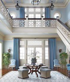 Blue zen home