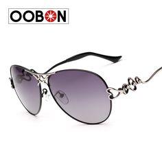oobon Top Grade Women's Polarized Lightweight Sunglasses Mirror Fashion Driving Popular Sun Glass for Female Eyewear Oculos de s