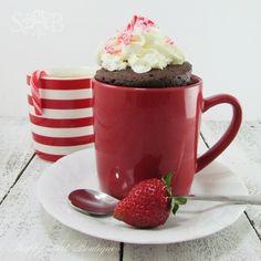 5 minute chocolate mug cake....made this tonight! Not bad!
