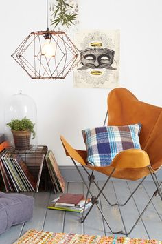 Clothing, accessories and apartment items for men and women. Interior Decorating, Interior Design, Wire Pendant, Butterfly Chair, Cool Chairs, Decoration, Interior Inspiration, Design Inspiration, Architecture