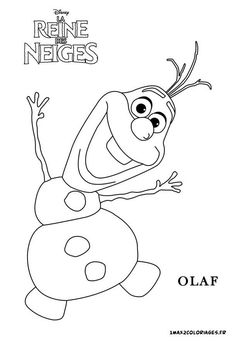 Olaf Frozen Images Coloring Pages