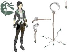 RWBY OC: Jett Siris by azulann on DeviantArt