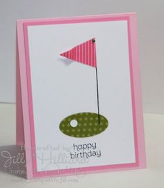 Jill's Card Creations: CAS meets Golf