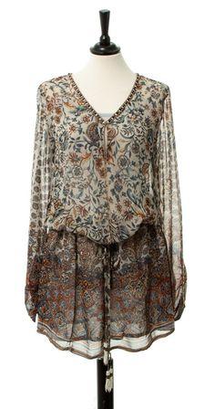 elle-belle.de Chiffon Dress - Original von Malvin - Malvin - Marken skandinavische mode online kaufen