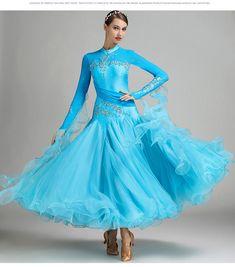 509bfa3a9c4df1 High end Moderne Ballroom Wettbewerb Dance Kleider Frauen  Waltz/Ballsaal/Tango Dance Standard Kostüme