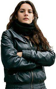 Camila Vallejo. Ojalá que sea la presidente algun día.