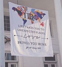 this would be really cute if we obviously changed the letters. it might be expensive to make but we could possibly just put it on a huge poster board idk Phi Sigma Sigma, Delta Phi Epsilon, Kappa Alpha Theta, Pi Beta Phi, Alpha Chi Omega, Sorority Bid Day, Sorority Sugar, Sorority Crafts, Sorority Life