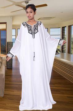 Dubai Very Fancy KAFTANS / Abaya Jalabiya Ladies Maxi Dress Wedding Gown Earing. Abaya Fashion, Modest Fashion, Fashion Outfits, African Fashion Dresses, African Dress, Kaftan Dubai, Abaya Mode, Best Party Dresses, Dress Party