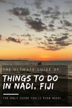 The ultimate guide of things to do in Nadi, Fiji! Don't leave until you've experienced these things to do in Nadi! Places To Travel, Travel Destinations, Places To Visit, Travel To Fiji, Travel Tips, Travel Hacks, Solo Travel, Travel Guides, Nadi Fiji