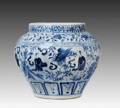 元 青花七子纹大罐 - Yuan Dynasty, China, The Palace Museum