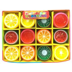Hot Crystal DIY Emoji Watch Fruit Mud Baby Toys Jelly Non-toxic/magnetic Silly Funny Early Education Kids Toys
