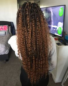 Top 60 All the Rage Looks with Long Box Braids - Hairstyles Trends Blonde Box Braids, Black Girl Braids, Braids For Black Hair, Black Girl Hair, Ombre Box Braids, Box Braids Hairstyles, My Hairstyle, Perfect Hairstyle, Scene Hairstyles