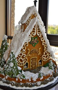 National Gingerbread house competition This gallery brought to you by BrandsMart USA