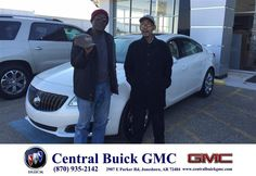 https://flic.kr/p/CWf7Wj | Happy Anniversary to Leslie on your #Buick #Regal from Mike O'Bryant at Central Buick GMC! | deliverymaxx.com/DealerReviews.aspx?DealerCode=GHWO