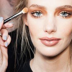 #makeup #trends #2015 #marsala