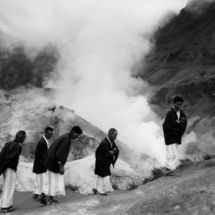 Henri Cartier-Bresson, JAPAN. Hokkaido. Noboribetsu. 1965.