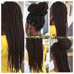Havana Twists with Marley Hair