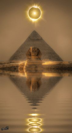 The sphinx watches and waits throughout the ages.  She shares her secrets with those that respect her.