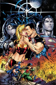 Teen Titans by Ed Benes