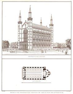 Schinkel's design for a Church in Oranienburg