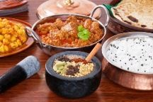 """Vikram Aneja has been running the restaurant from last five years as """"Banjaara"""" before he decided to go a step ahead from the rest in terms of quality and service. So he decided to start the change with the name. Korma, Biryani, Indian Food Recipes, Ethnic Recipes, India Food, Chicken Tikka, Vegetarian Options, The Ordinary, Indian Cuisine"""