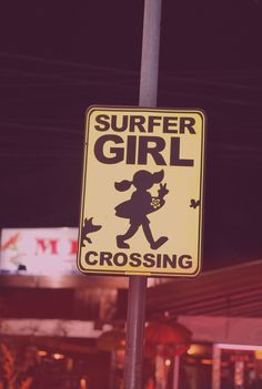 Surfer Girl Crossing