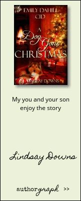 """Authorgraph from Lindsay Downs for """"A Dog Gone Christmas"""""""