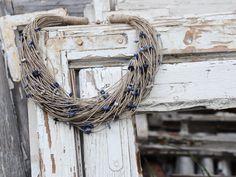 Natural linen & sodalite boho necklace Boho Necklace, Natural Linen, Grapevine Wreath, Grape Vines, Wreaths, Nature, Jewelry, Decor, Naturaleza