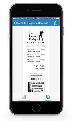 Digital Receipts never looked so good. The flip side is customized by Retailers to build loyalty marketing and better relationships.