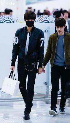 EXO's Kai and D.O - 141121