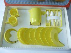 1980s USSR Russia Soviet Estonia Salvo Plastic Tableware Set for Dolls | eBay