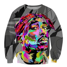Unisex Hipster Harajuku 3D sweatshirts 2Pac Tupac Rap Star Hoodies * Check this awesome product by going to the link at the image.