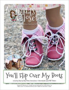 PATTERN: You'll Flip Over My Boots (PDF) | Club Matilda