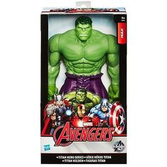 """The hulk 12"""" #titan hero series action figure marvel #avengers #large toy,  View more on the LINK: http://www.zeppy.io/product/gb/2/141358585725/"""